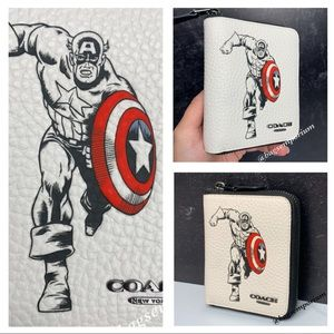 Coach Marvel Captain America Wallet